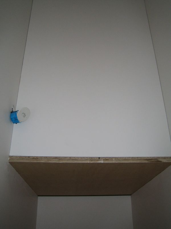 Créer un placard dans escalier